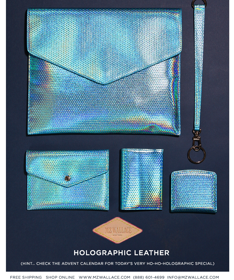 The Holographic Leather Collection (Hint… Check the Advent Calendar for a very ho-ho-holographic special)