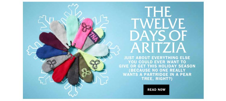 The Twelve Days of Aritzia