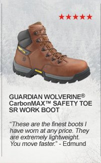 Guardian Wolverine CarbonMax Safety Toe SR