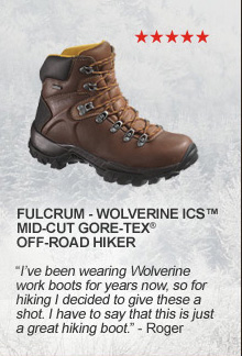 Fulcrum Wolverine ICS Mid-Cut GORE-TEX Off-Road Hiker