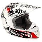 SMS Tempo MX Timeless White Helmet
