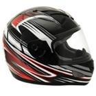 SMS Rhode Never Surrender Black/Red Helmet