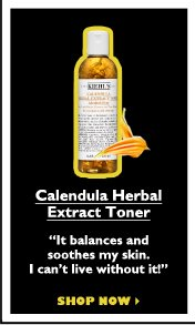 "Calendula Herbal Extract Toner | ""It balances and soothes my skin. I can't live without it!"" 