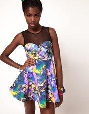 Fairground Pretty Woman Skater Dress