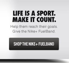SHOP THE NIKE+ FUELBAND