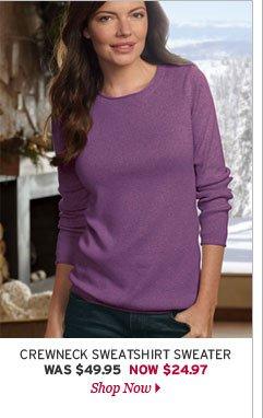 Crewneck Sweatshirt Sweater