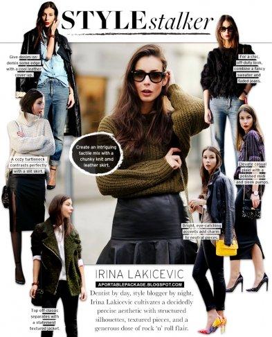 Style Stalker: Irina Lakicevic