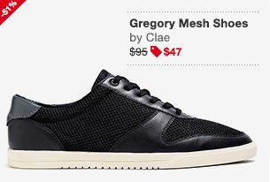 Gregory Mesh Shoes Black Image