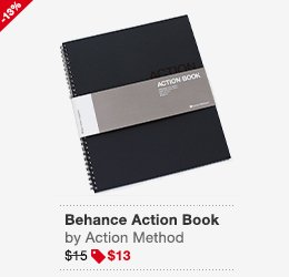 Behance Action Book Blue Image