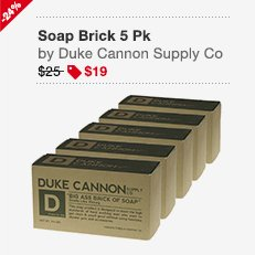 Duke Cannon Supply Soap 5 Pack Image