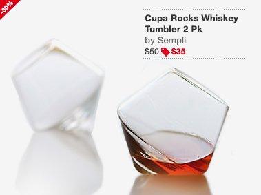 Cupa Rocks Whiskey Tumbler 2 Pk Image