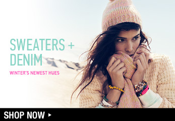 Sweaters + Denim - Shop Now