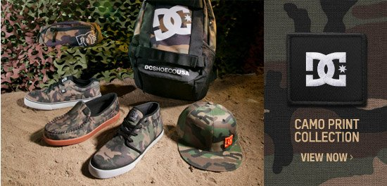 Camo Print Collection. View Now.