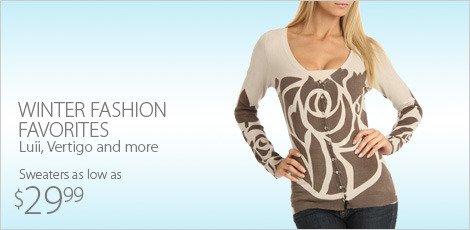 Winter Fashion Favorites: Luii, Vertigo & more