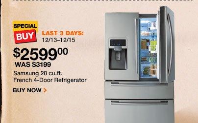 Samsung 28 cubic foot Refrigerator