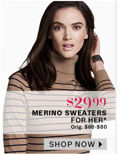 Merino sweaters for her