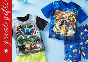 Comfy Character Sleepwear Sets for Boys