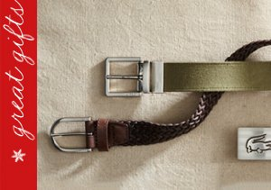 Lacoste Belts & Watches