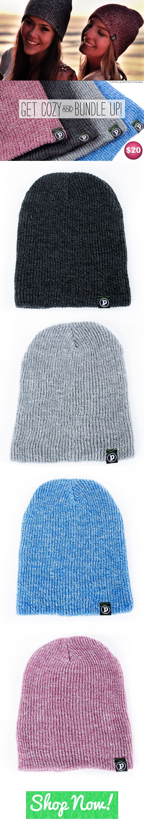 Beanies are back! Just in time for XMAS! ;)