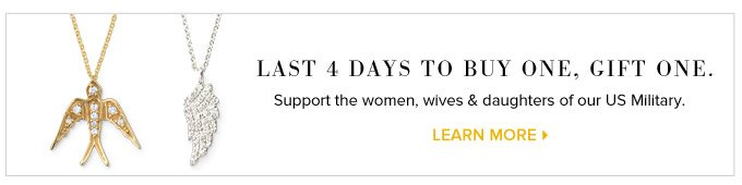 Last 4 Days to Buy Onoe, Gift One. Support the women, wives & daughters of our US Military. Learn More