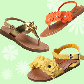 Vacation Getaway: Kids' Sandals