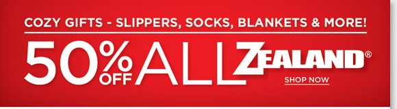 Get great cozy Zealand gifts and save 50% on socks, slippers, blankets and more for 3-days only! Plus, shop the ultimate UGG® Australia Collection, including over 120 sale styles for savings of up to $100, and get great gifts for the entire family! Shop now for the best selection at The Walking Company.