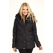 DKNY Short Pillow Collar Down Coat