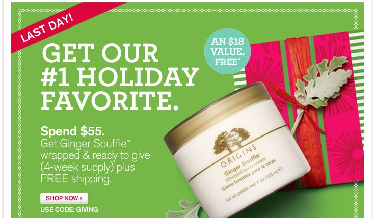 Get our #1 Holiday Favorite.
