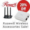 Rosewill Wireless Accessories Sale! 20% Off.