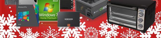 Win8, Win7, SSD, PSU, Oven