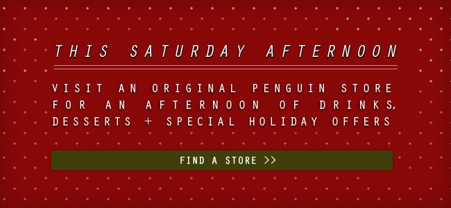 Just in time for the Holidays! Saturday Dec. 15 Drinks, Desserts + Holiday Shopping.