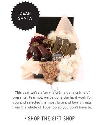 Dear Santa - Shop the Gift Shop