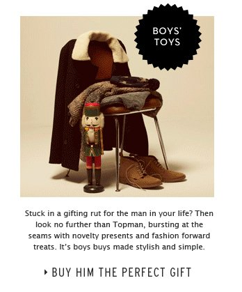 Boy's Toys - Buy Him the Perfect Gift