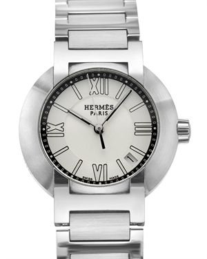 Hermes LU Nomade Stainless Steel Autoquartz Watch $949