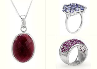Gemstone Silver Jewelry Deals for Her