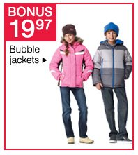 BONUS $19.97 bubble jackets