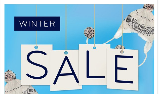 Winter Sale! Up to 40% Off
