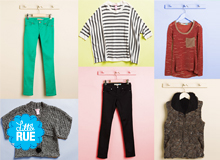 Hues & Blues Girls' Jeans & Tops