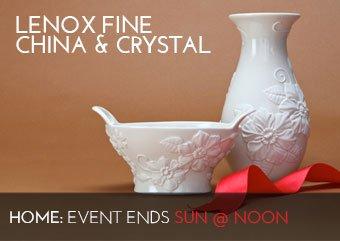 LENOX FINE CHINA & CRYSTAL