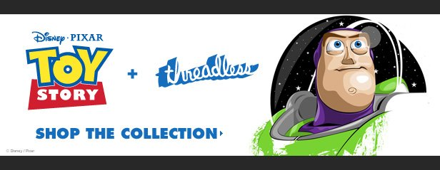 Toy Story + Threadless - Shop the collection