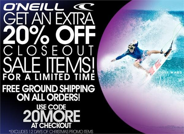 Free Ground Shipping on all orders!