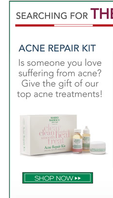 Is someone you love suffering from acne? Give the gift of our top acne treatments