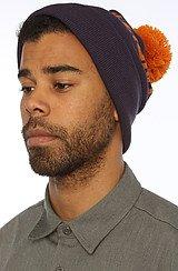 The Billionaire Pom Pom Hat in Blue