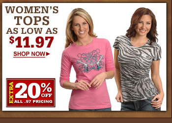 Womens $19.97 & under