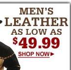 shop mens leather