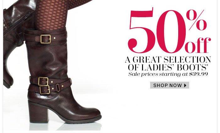 Shop Now Ladies' Boots