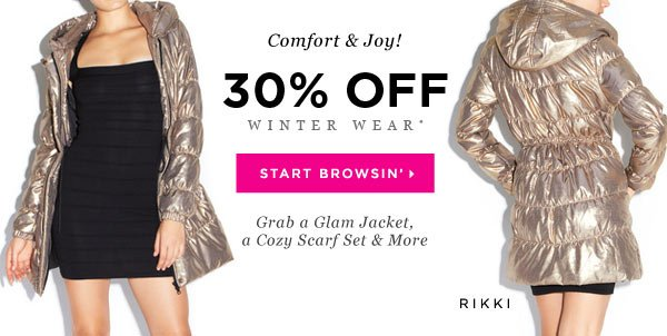 All Winter Wear Is Now 30% Off, but for 3 More Days Only