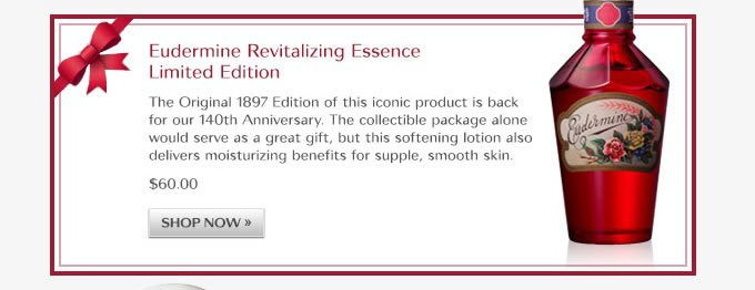 EUDERMINE Revitalizing Essence Limited Edition
