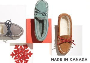 Made in Canada: Zerostress Slippers, Moccasins, and Booties