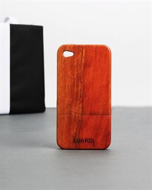 Luardy Mahogany Handcrafted Wooden iPhone 4 Case